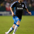 Bobby Convey in action during the Chivas USA vs. San Jose Earthquakes match — Stock Photo