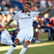 David Beckham in action during the MLS conference semifinal match — Stock Photo