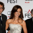 Kirk Jones, Kate Beckinsale, and Robert De Niro attend the film premier — Stock Photo