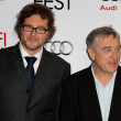 Stock Photo: Kirk Jones nd Robert De Niro attend film premier