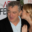 Robert De Niro and Drew Barrymore attend the film premier - Stock Photo