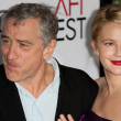 Robert De Niro and Drew Barrymore attend film premier — Stock Photo #14586771