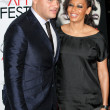 Stephen Belafonte and Melanie Brown attend AFI Fest screening of Bad Lieutenant — Stock Photo #14587753