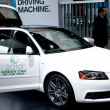 Audi A3 TDI on display at Auto Show — Foto Stock #14587991