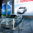 ToyotPrius Plug-In Hybrid on display at Auto Show — Foto Stock #14588075