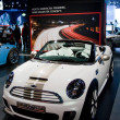 Mini Cooper Roadster Concept on display at Auto Show - Stock Photo