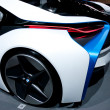 The rear of the BMW Vision Efficient Dynamics Concept on display at Auto Show — Stock Photo
