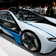BMW Vision Efficient Dynamics Concept on display at Auto Show - Stock Photo