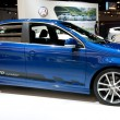 Jetta TDI Cup Edition on display at Auto Show - Stock Photo