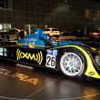 Постер, плакат: Acura powered American Le Mans race car on display at the Auto Show