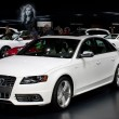 Audi S4 sedan on display at the Auto Show - Stock Photo