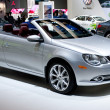 VW EOS Convertible on display at Auto Show — Foto Stock #14588517
