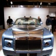 Stock Photo: Rolls Royce Phantom Drophead Coupe on display at Auto Show