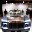 Rolls Royce Phantom Drophead Coupe on display at Auto Show — Foto Stock #14588605