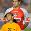 Patricio Araujo during the pre game lineup of the the game - Stockfoto