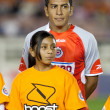 Omar Esparza during the pre game lineup of the match - Stockfoto