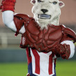 Chivas de Guadalajara mascott during the match - Stockfoto