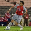 Hector Reynoso in action during the match — Stock Photo #14589471