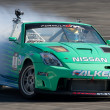 Tyler McQuarrie competes at Toyota Speedway during Formula Drift round — Stock Photo