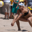 Stock Photo: Jen Kessy playing volleyball