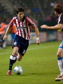 Sacha Kljestan in action during the Chivas USA vs. San Jose Earthquakes match — Stock Photo
