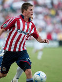 Оustin Braun in action during the MLS conference semifinal match — Stok fotoğraf