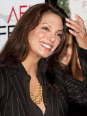 Alex Meneses attends the film premier — Stock Photo