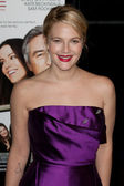 Drew Barrymore attends the film premier — Stock Photo