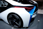 The rear of the BMW Vision Efficient Dynamics Concept on display at Auto Show — Foto Stock