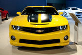 Chevrolet Camaro 2SS Coupe on display at the Auto Show — Stock Photo