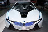 BMW Vision Efficient Dynamics Concept on display at the Auto Show — Stock Photo