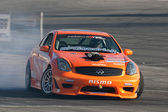 Ron Ewerth competes at Toyota Speedway during Formula Drift — Stock Photo
