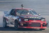 ジェフ ・ ジョーンズ フォーミュラド ラウンド中にトヨタ ・ スピードウェイで競う — ストック写真