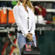 Ines Sainz a reporter from Mexico City — Foto Stock