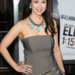 Lora Cunningham attends The Book of Eli premiere — Stock Photo