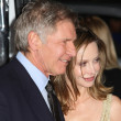 Harrison Ford and Calista Flockhart attend the Extraordinary Measures premiere — Stock Photo