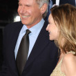 Stock Photo: Harrison Ford and CalistFlockhart attend Extraordinary Measures premiere