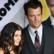 Josh Duhamel and Fergie attend When In Rome premiere — Stock Photo #14591439