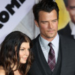 Josh Duhamel and Fergie attend the When In Rome premiere — Stock Photo