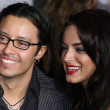 Stock Photo: Actor Efren Ramirez and his guest attend When In Rome premiere