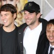Mark Steven Johnson, Bradley Cooper and Andrew Panay attend When In Rome premiere — Stock Photo #14592089