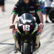 Chris Ulrich's M4 Monster Energy Suzuki GSX-R1000 - Foto Stock