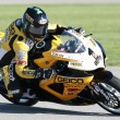 Постер, плакат: Danny Eslick of team rides his Suzuki GSX R600