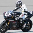 Постер, плакат: Chris Clark on a Yamaha YZF R