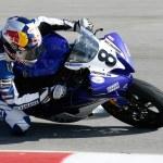 Постер, плакат: Josh Herrin rides his Yamaha YZF R6