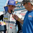 Stock Photo: Josh Herrin gives interview
