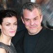 Stock Photo: Danny Huston and Lyne Renee attend Clash of Titans premiere