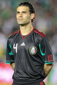 Rafael Marquez before the start of the game — Stock Photo