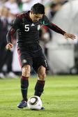 Ricardo Osorio in action during the game — Stock Photo