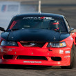 Doug Van Den Brink competes at Toyota Speedway - Stock Photo